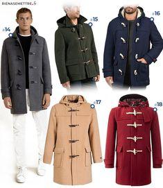 Duffle coat homme   sélection des plus beaux manteaux Automne Hiver 2018  2019 a4aebee295c5