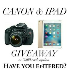 Did you enter yet? See the original post to enter!