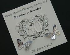 Diamond Wedding Card Idea