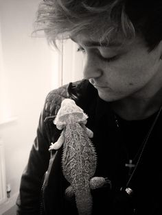 Connor and Rex never knew a bearded dragon could look so good