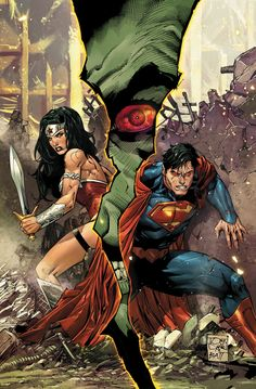 SUPERMAN/WONDER WOMAN #3 Written by CHARLES SOULE Art and cover by TONY S. DANIEL and BATT