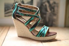"""Cynthia Vincent """"Juno"""" wedge. 1 pair left!! size 10"""
