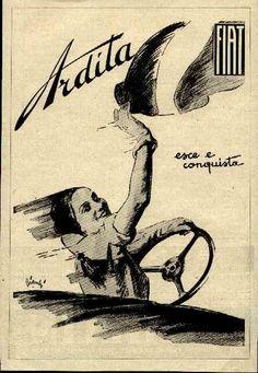 Advertising Ardita Fiat