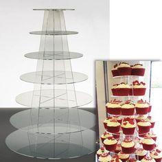 Cupcake Stand 7 TIER ROUND - Clear Acrylic Display Tower ... https://www.amazon.co.uk/dp/B0045UKS9E/ref=cm_sw_r_pi_dp_x_DKZeybHCJZDPZ