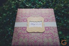 Go for a damask print or gold accents if you want your invitation to channel elegance. | www.mydebut.ph