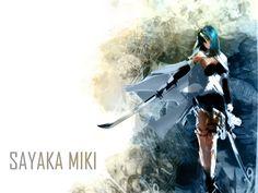 Sayaka Miki Wallpaper by lazyaznkid.deviantart.com on @DeviantArt