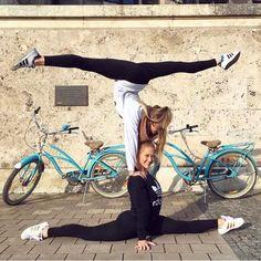 me gusta, 112 comentarios - welcome flexible people ( peopl Gymnastics Tricks, Gymnastics Skills, Gymnastics Quotes, Gymnastics Pictures, Acro Dance, Dance Poses, Yoga Poses, Flexibility Dance, Gymnastics Flexibility