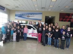 Cast members of Kankakee Valley Theatre Association's Ramona Quimby were invited to Taylor this weekend to watch the Ramona and Beezus movie at the dealership with free popcorn, candy and drinks! Here are some of the cast members with the Ramona detailed Dodge Challenger that Taylor donated. The kids are working very hard to for performances on March 15 & 16! Ramona Quimby KVTA tickets are available online at www.kvta.org or by calling 815-935-8510.
