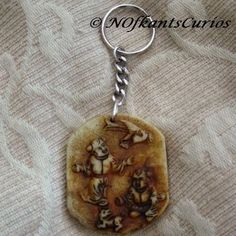 Playful Children Nephrite Jade Carved Amulet Keyring or Handbag Charm. £14.00