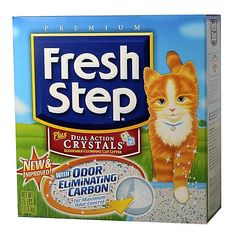 Fresh Step Plus Dual Action Crystals Cat Litter -- Want to know more, click on the image.(This is an Amazon affiliate link and I receive a commission for the sales)
