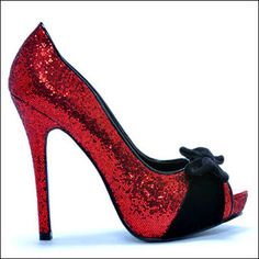 Dorothy, I took your shoes.  Made them better. No, you can't have them back. Sorry.