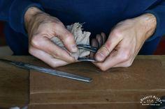 Belt Smuggler em Couro Natural | Barrett Alley - Handmade nos EUA