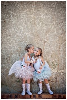 How cute are these two little ones outfits?!?! Love wellies and tutus!!