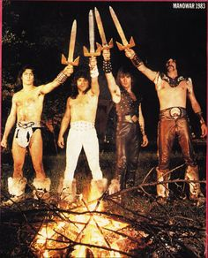 Nothing like a little Manowar now and then - Manowar 1983