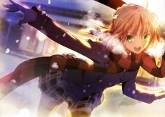 Tags: Anime, Fate/stay night, Saber, TYPE-MOON, Scan