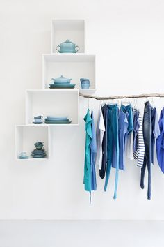 Sukha Amsterdam #interiors #blue #clean