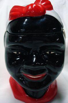 Vintage Aunt Jemima Mammy Large Ceramic Cookie by KooterandFlos, $75.00