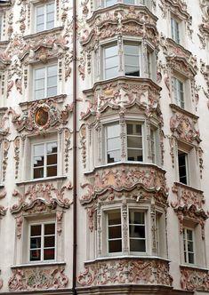 Balcons à Paris.