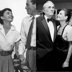 Audrey Hepburn & Gregory Peck...I love this