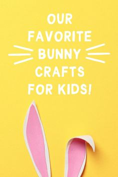 A sweet collection of our favorite modern and creative bunny crafts for kids! Easter Arts And Crafts, Spring Crafts For Kids, Bunny Crafts, Diy Crafts For Kids, Easter Activities, Spring Activities, Activities For Kids, Nature Crafts, Recycled Crafts