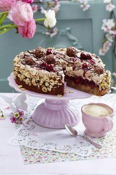 Feine Rocher-Torte Rezept