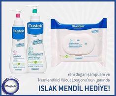 Mustela Hediyeli Bebek Bakım Çantası 99,50₺ yerine 74,50₺ %25 indirim Bebeğinizin keyifli banyo yapabilmesi için doğumdan itibaren kullanabileceğiniz sabun içermeyen saç ve vücut şampuanı + Normal cilde sahip yeni doğanların ve bebekler için günlük vücut nemlendiricisi + Hassas bebek cildi için yüz temizleme mendili http://www.dermobutik.com/marka/mustela.html #dermobutik #bebekbakımı #anneolmak #annevebebek #yenidoğan #mustela #indirim