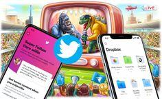 Aktualizácie: Super Follow na Twitteri, neobmedzené streamovanie sTelegramom avylepšená apka od Readdle