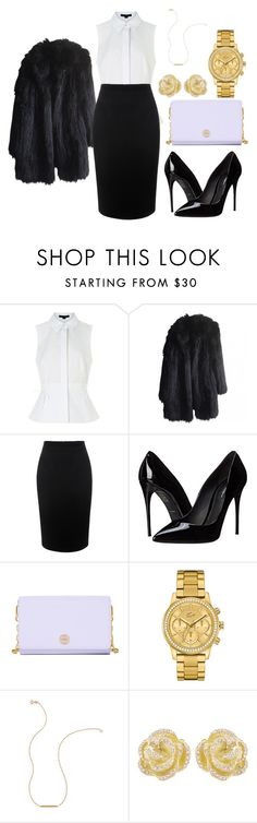 """Night out#2"" by alexandrakeh on Polyvore featuring beauty, Alexander Wang, Sonia Rykiel, Alexander McQueen, Dolce&Gabbana, Tory Burch, Lacoste, Wish by Amanda Rose and Effy Jewelry"