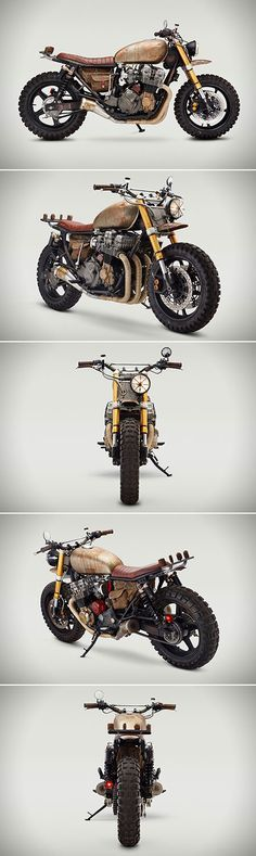 Daryl Dixon Honda CB750 Nighthawk, Confidential Motorcycles - Created for The Walking Dead