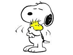 Custom Screen Printed T-Shirt Snoopy Loveing Woodstock Small - Snoopy Clip Art, Snoopy Tattoo, Peanuts Cartoon, Peanuts Snoopy, Charlie Brown Und Snoopy, Snoopy Und Woodstock, My Planner Colibri, Charlie Brown Characters, My Childhood Friend