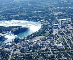 Beautiful view of the falls just before Fall. Aerial Photography, Niagara Falls, Ontario, City Photo, Environment, Photo And Video, Landscape, Beautiful, Instagram