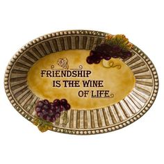 Grasslands Road in Vino Veritas Ceramic Au Gratin Dish, 10-Inch *** Check this awesome product by going to the link at the image.