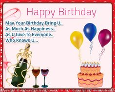 happpy birthday e cards | happy birthday wishes with vine bottle e-card