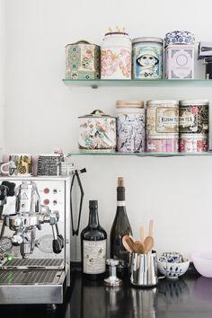 coffee & tea station