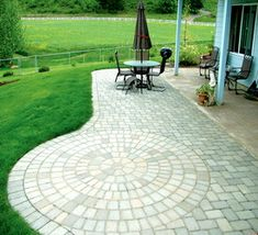 find this pin and more on garage ideas patio stone - Patio Stone Ideas With Pictures