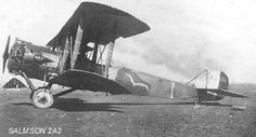 SALMSON 2A2. French Air Force WWI.