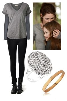 """Bella Swan 3#"" by letycalazans ❤ liked on Polyvore featuring Friendly Hunting and Nation LTD"