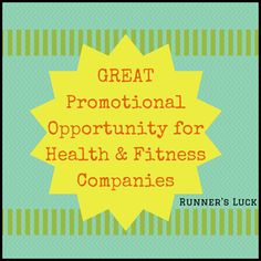 Seeking Event Sponsorship with Health and Fitness Companies who want to promote their company/product at the LARGEST fitness event in WORLD!!