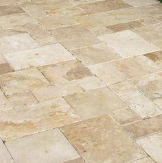 Travertine Patio | Global Stone Travertine Patio Pack Kale 5706