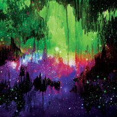 """Castles In The Mist IV"" By Artist Julia Di Sano, Owner/ Artist of Ebi Emporium…"