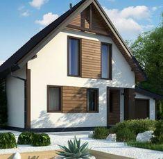 A GP ptg to wyjątkowy dom z kategorii projekty domów tanich w budowie Roof Lines, Sweet Home, Shed, Exterior, Houses, Outdoor Structures, Outdoor Decor, Ideas, Home Decor