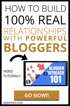 Want to connect and network with powerful bloggers in your space? Influencer marketing will take your biz to the next level. Read this post to learn what to do, what not to do, and more. Blogger outreach, influencer marketing, permission marketing, blogging tips. EdenFried.com, doyouevenblog.com via @bloggerinsights