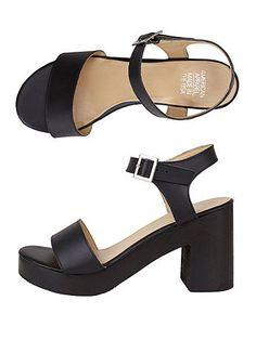 American Apparel; Wooden Heel Sandal