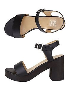 Wooden Heel Sandal $96.00 American Apparel  *want want want want want*