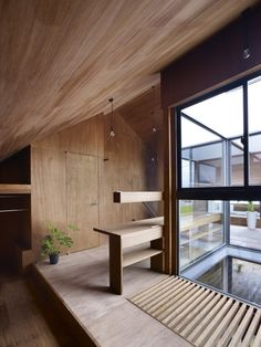 Gallery of Ogaki House / Katsutoshi Sasaki + Associates - 7 Architecture Design, Japanese Architecture, Japanese Interior, Interior Decorating, Interior Design, Wood Interiors, Minimalist Interior, Interior Exterior, Home Deco