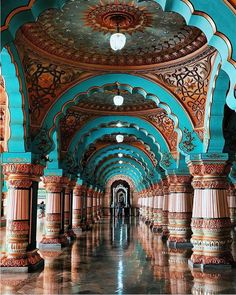 """Mysore Palace in India  Photography: @alampanah"""