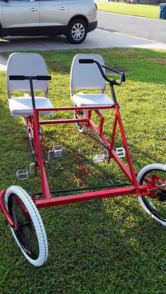 Ultimate DIY 4 wheel bike plans and kits. Made from PVC ...