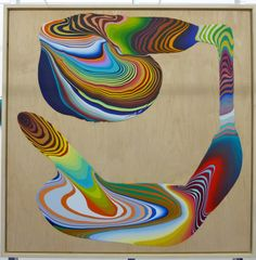 Squirm Painting by Holton Rower