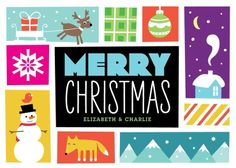 Merry Times - Christmas Greeting Cards in Black | Magnolia Press