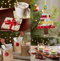 Merry Makers by designer Roseann Meehan Kermes. Instructions in Quilts and More Winter 2015 | AllPeopleQuilt.com